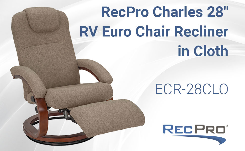 Euro Chair Recliner in Cloth