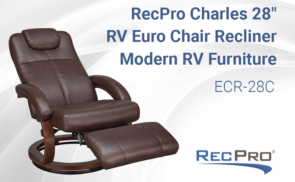 Euro Chair Recliner Charles Collection