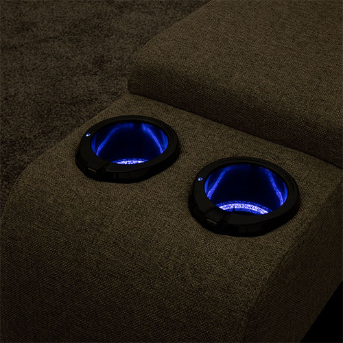Upgrade to Lighted Cup Holders