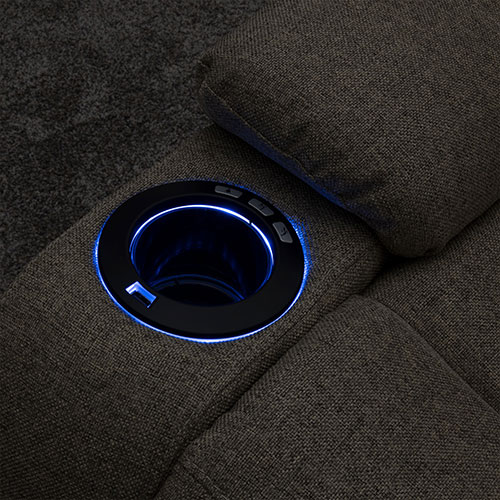 Blue LED Cup Holders