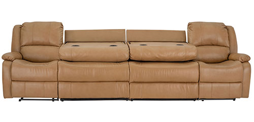 """130"""" Sofa in Toffee"""