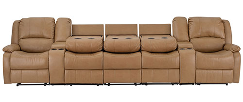 """142"""" Sofa in Toffee"""