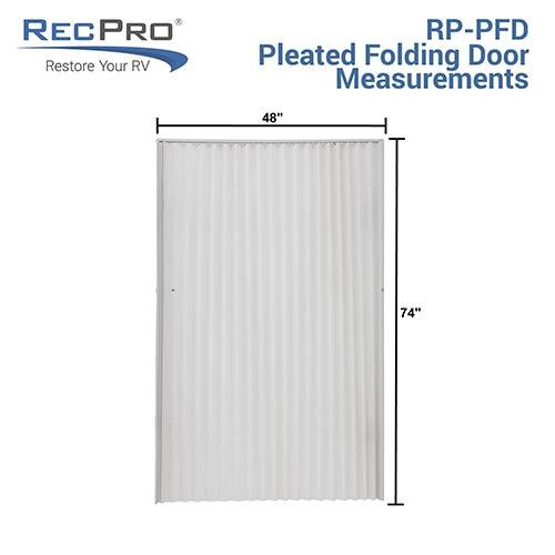 RV Pleated Door