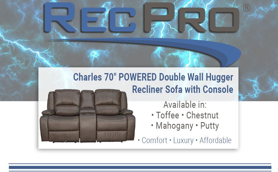 """70"""" Recliner Sofa"""