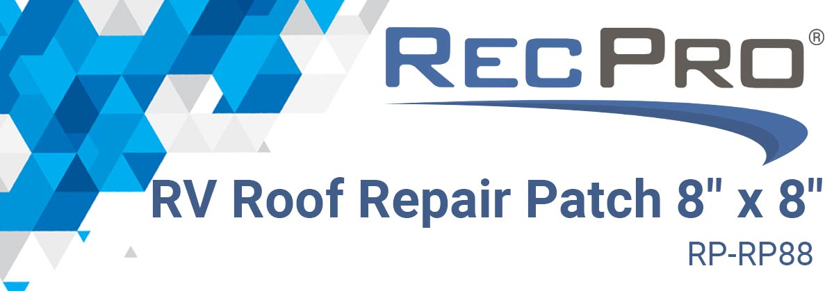 RV Roof Repair Patch