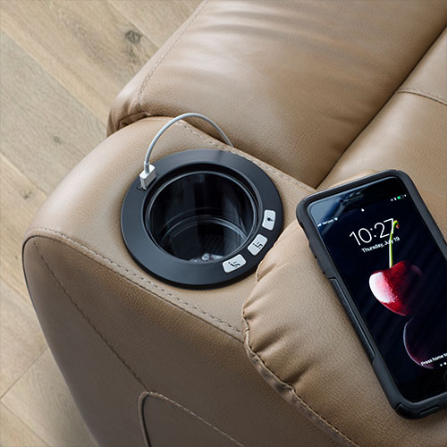 USB Charger Cup Holder
