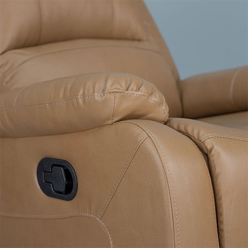Zero Wall Recliner in Toffee