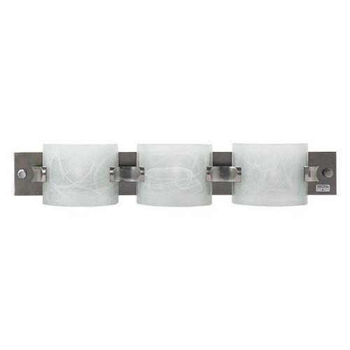 "18"" RV Vanity Light 12V LED Brushed Nickel - RecPro"