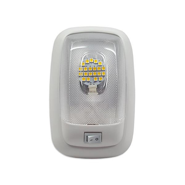 Single Dome LED Pancake RV Light- 4200K Neutral White