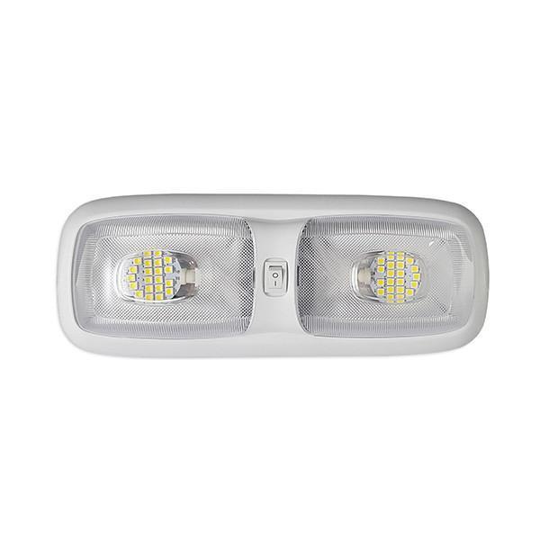Double Dome Interior RV LED Light- 4200K Warm White