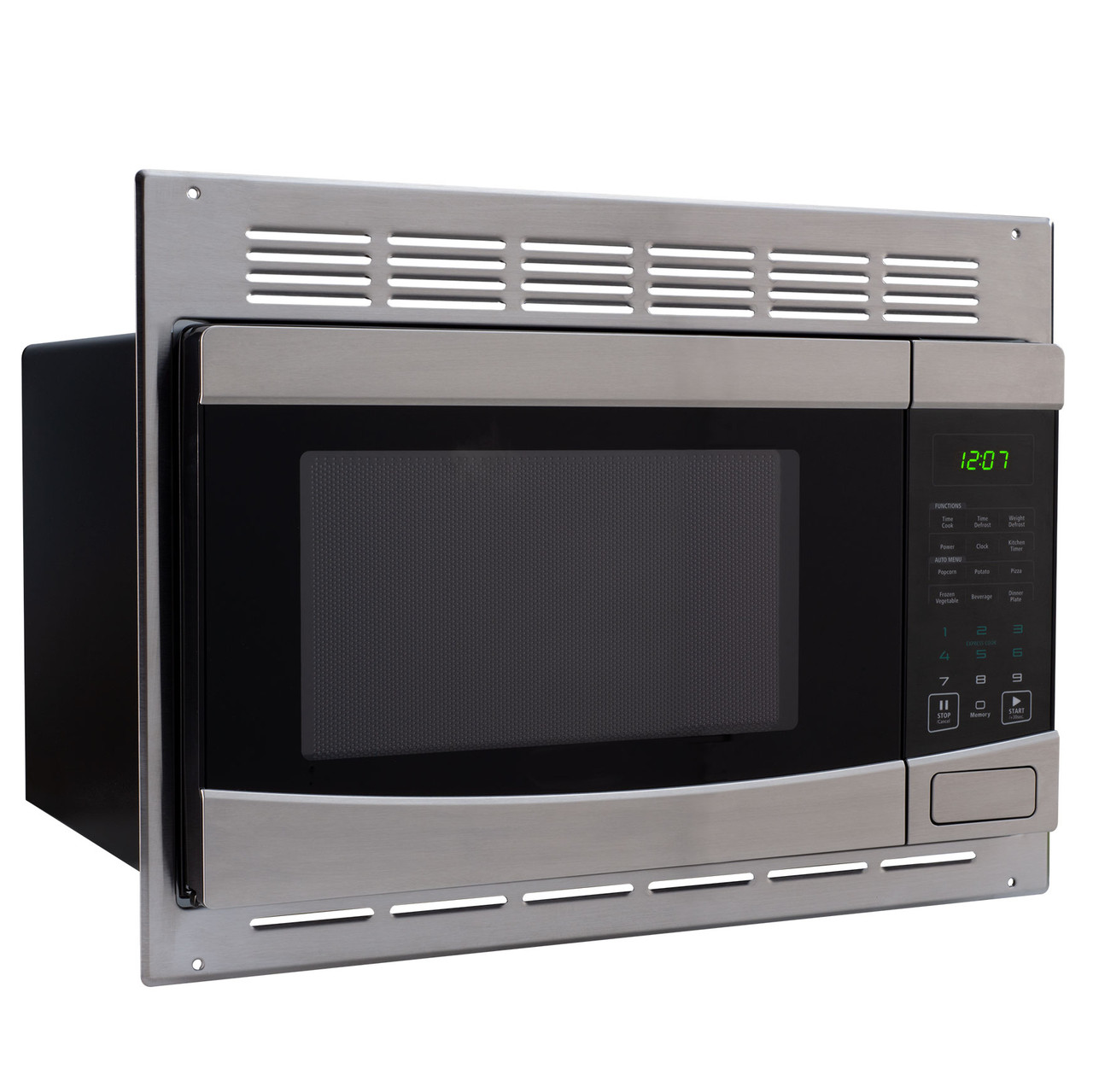 RV Microwave Stainless Steel 1.0 cu. ft. Replaces High Pointe and Greystone