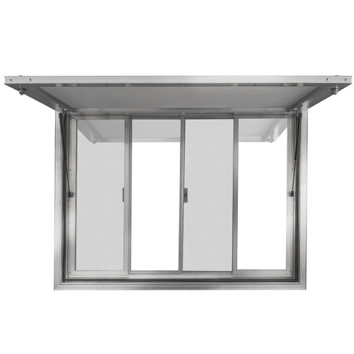 Concession Stand Trailer Serving Window W Awning Cover
