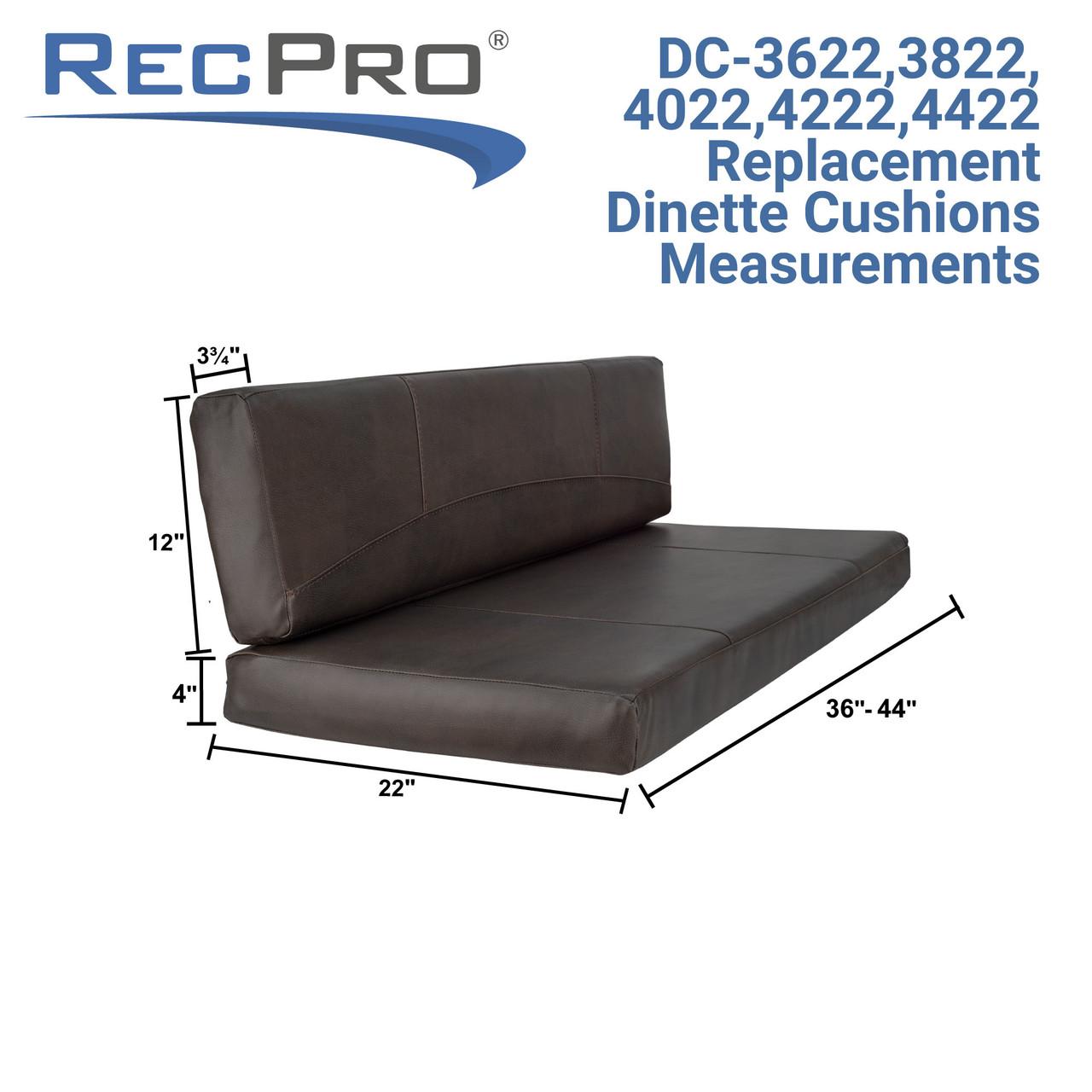 RV Dinette Cushion