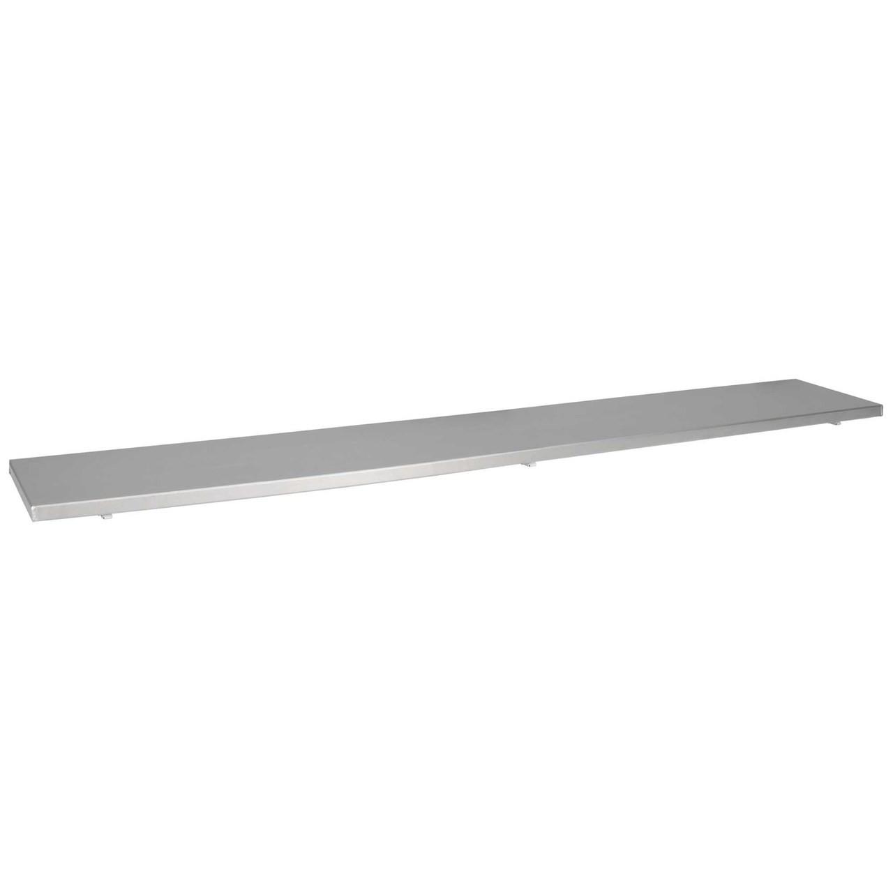 Aluminum Drop Down Concession Stand Serving Shelf