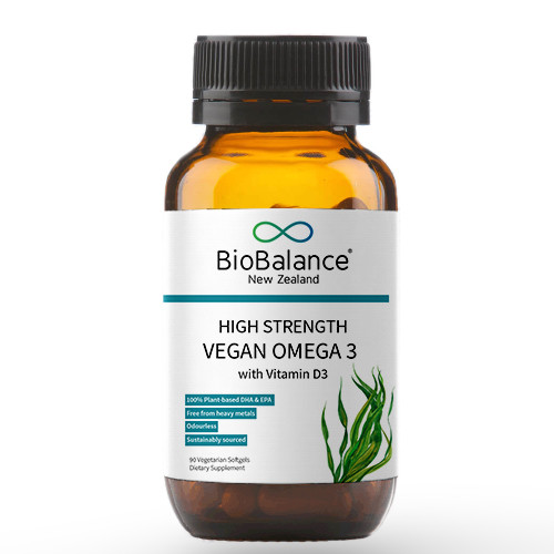 BioBalance High Strength Vegan Omega 3 with Vitamin D3
