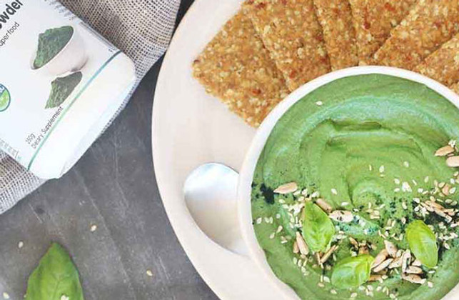 Be Good Organics' Green Hummus