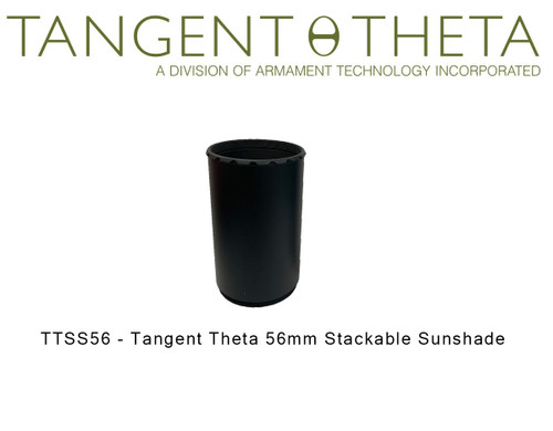 TTSS56 - Tangent Theta 56mm Stackable Sunshade