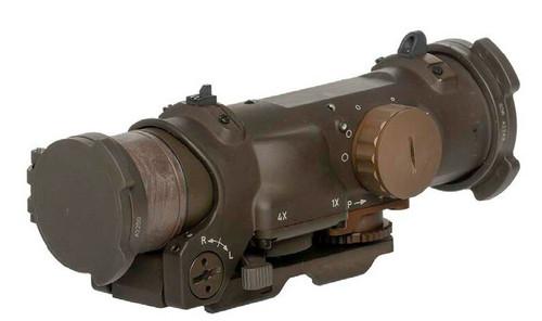 ELCAN SpecterDR 4x/1x Dual Role Optical Sight FDE