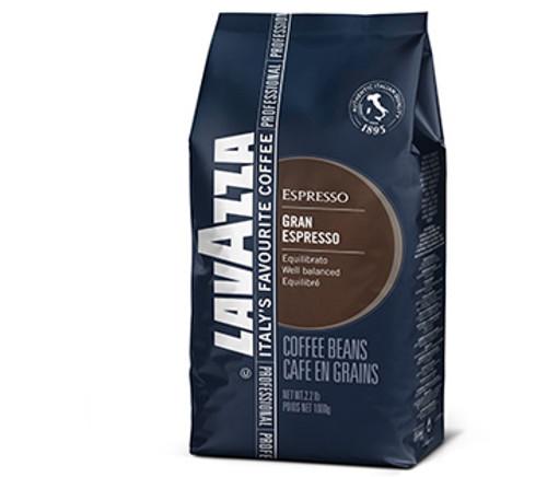 LavAzza Grand Espresso Beans 1-pk 1kg/2.2lbs