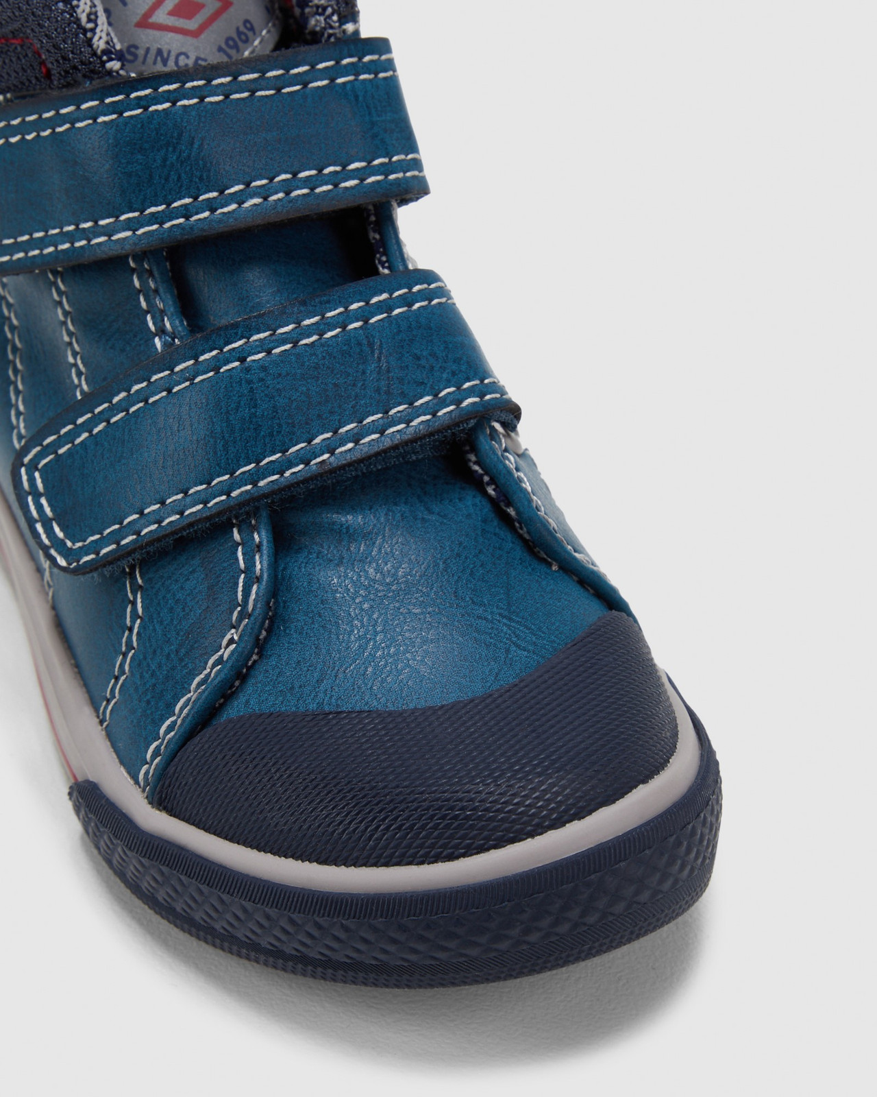 Shoes & Sox Boys Strap Boots Youth Petrol