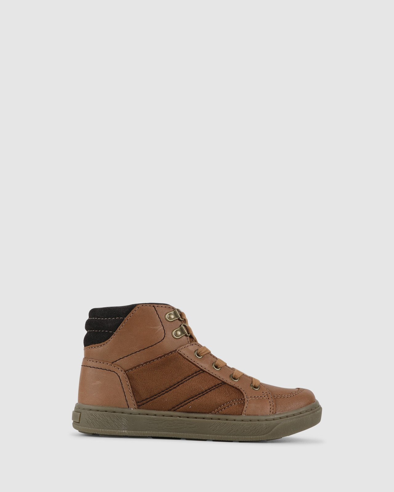 Shoes & Sox Boys Gabriel Boots Tan