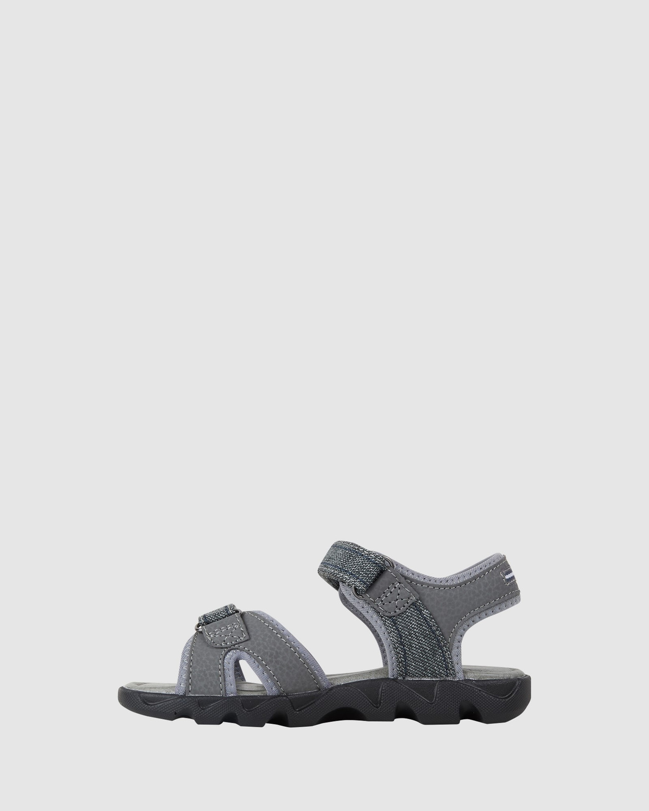 Shoes & Sox Boys Mohican Jeans Youth Grey