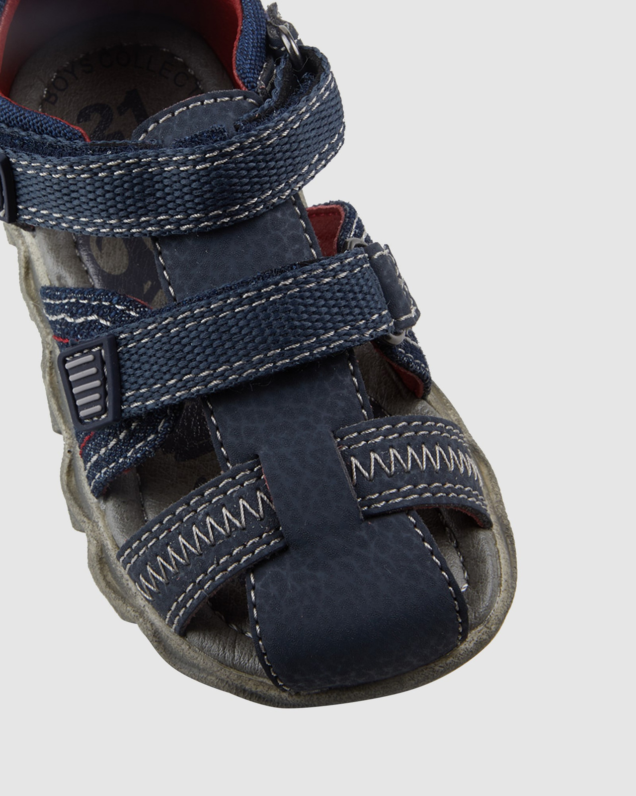 Shoes & Sox Boys Kansas Jeans Cage Infant Navy