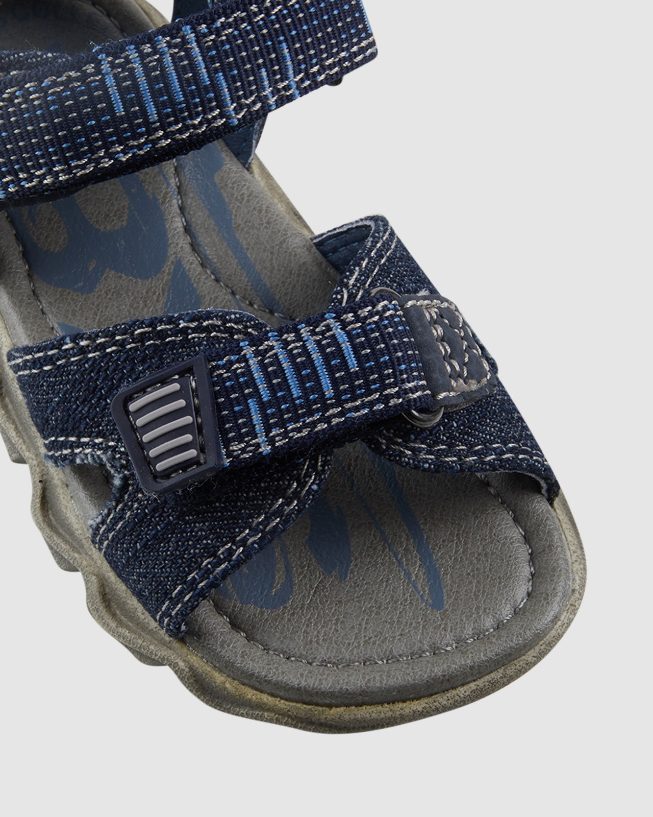 Shoes & Sox Boys Kansas Jeans Open Infant Navy