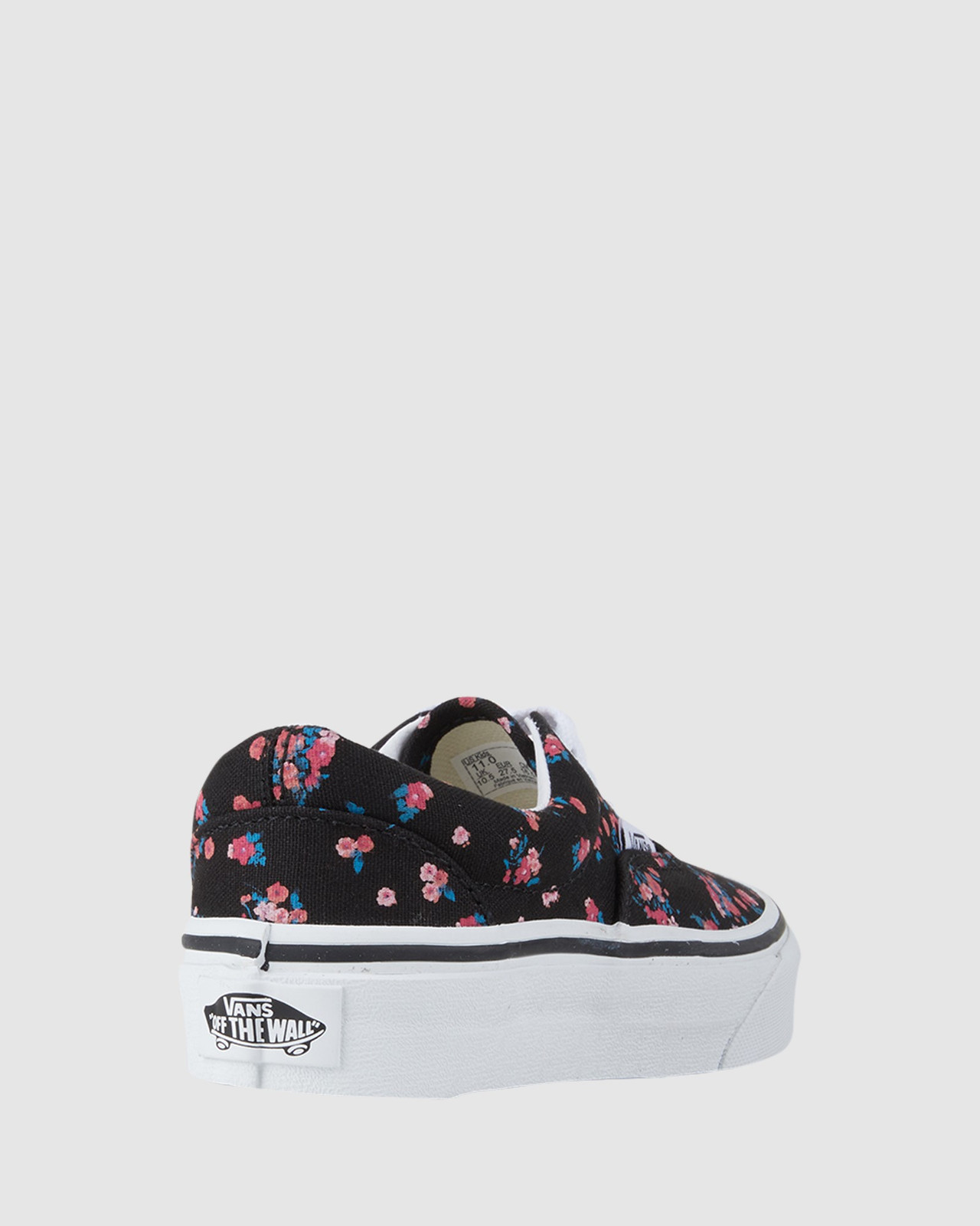 Shoes & Sox Girls Ezra Floral Youth Black/Floral