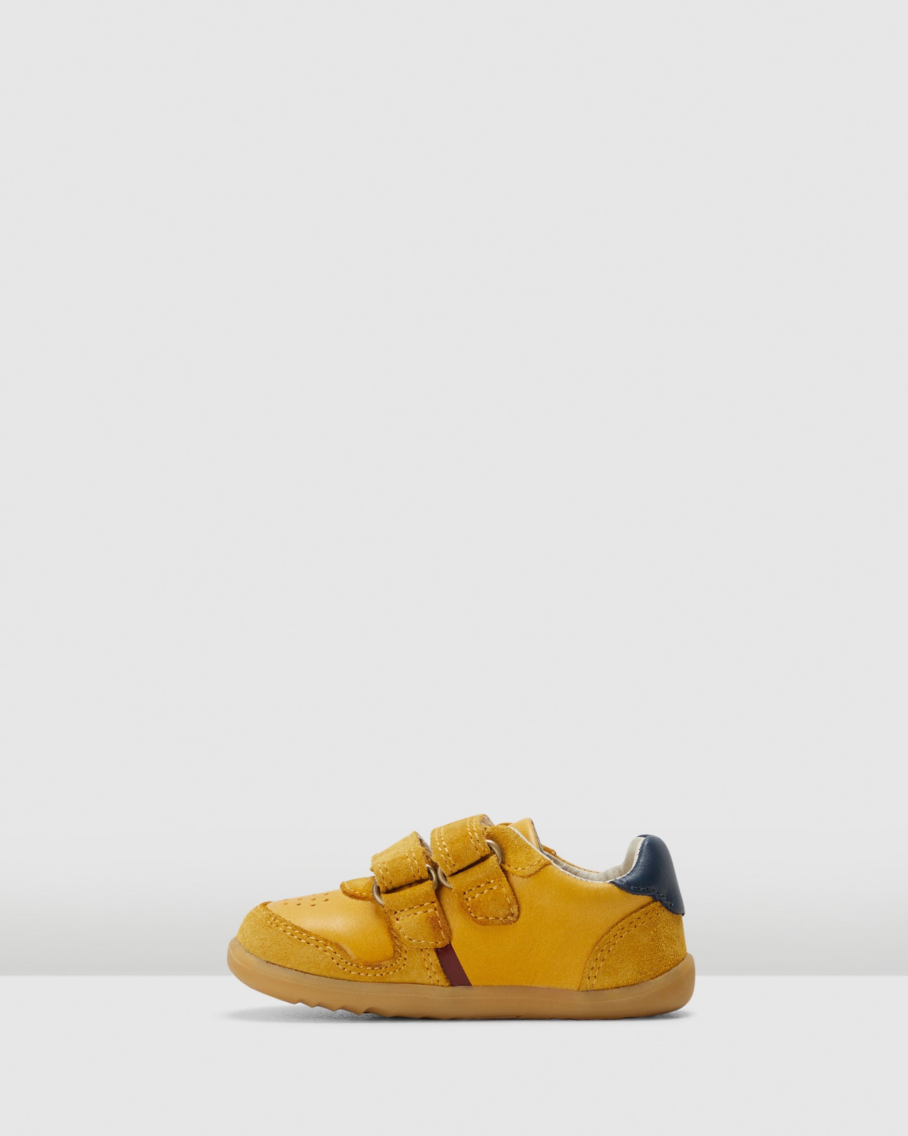 Shoes & Sox Boys Step Up Riley Chartreuse /Navy