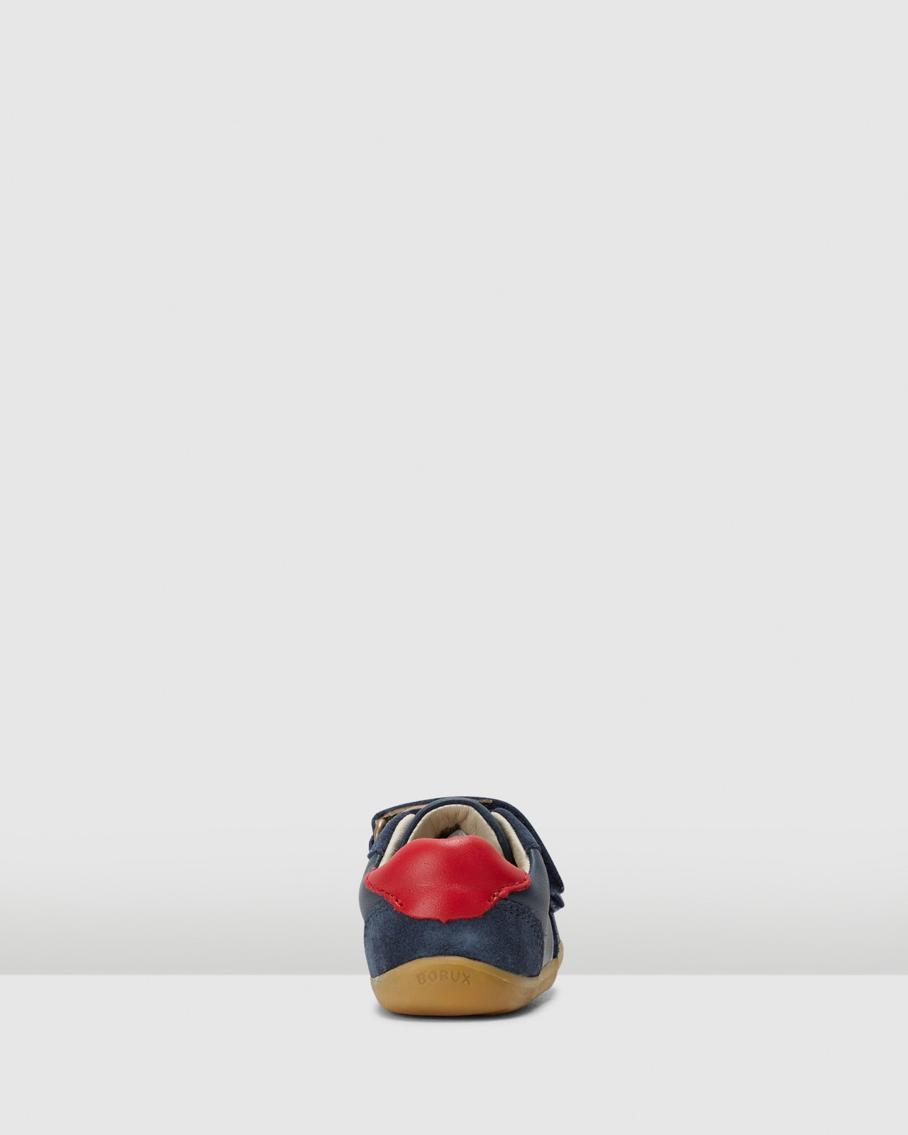 Shoes & Sox Boys Step Up Riley Navy/Red