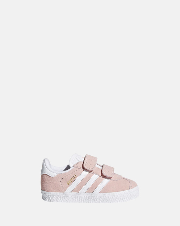 Shoes and Sox Gazelle Sf Strap Inf G Pink/White