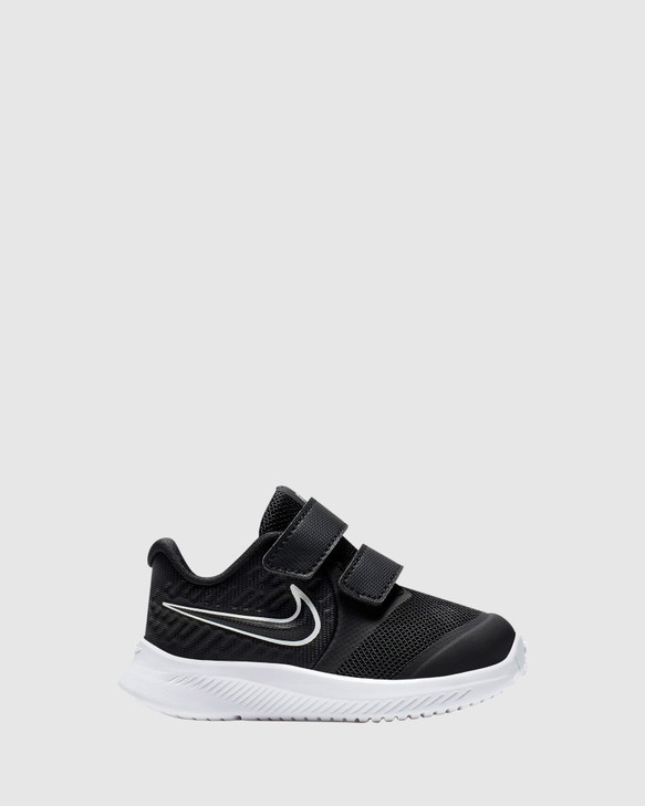 Shoes and Sox Star Runner 2 Inf B Black/White/Black