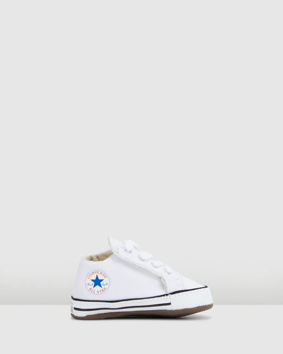 Shoes and Sox Chuck Taylor Cribster B White