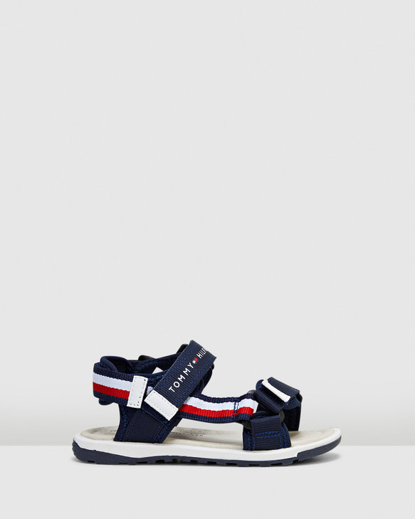 Shoes and Sox Th Sf Tape Sandal Navy/White/Red
