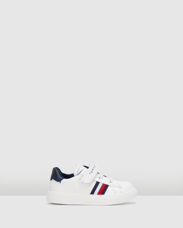 Shoes and Sox Th Sf Classic Flag Sneaker B White/Navy