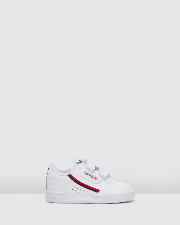 Shoes and Sox Continental 80 Sf Inf B White/Red/Navy