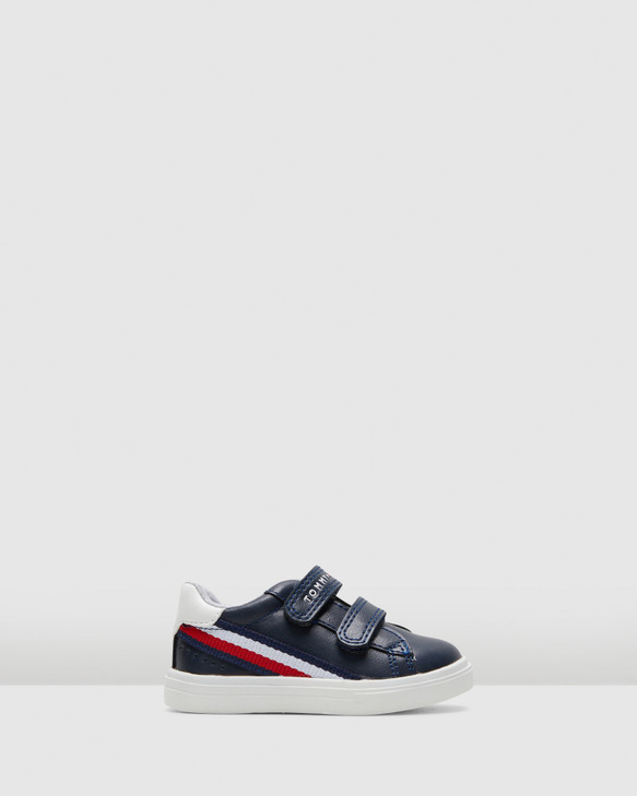 Shoes and Sox Th Sf Side Stripe Sneaker Inf Navy/Red/White