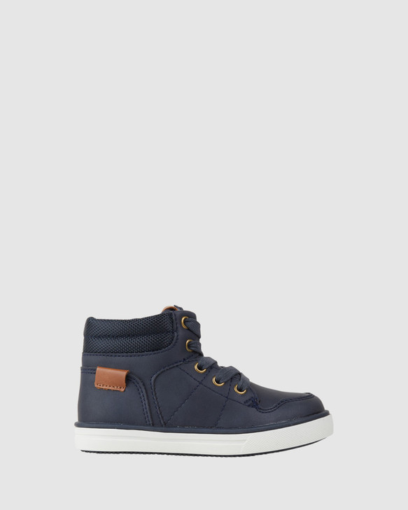 Shoes and Sox Mitchell Boot Navy