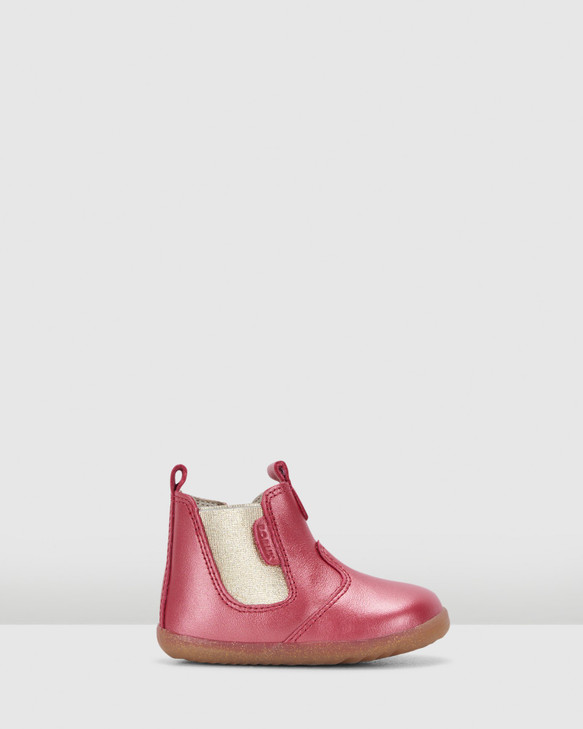 Shoes and Sox Step Up Jodhpur Boot Ii G Cherry Shimmer