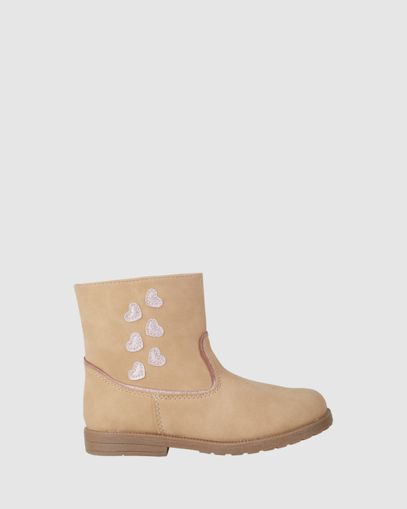 Shoes and Sox Esme Boot Light Tan