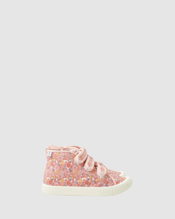 Shoes and Sox Play Billie Happy Days Hi Top Pink
