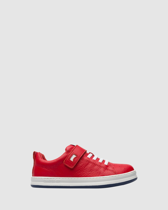 Shoes and Sox Runner Sneaker Sf B Yth Red