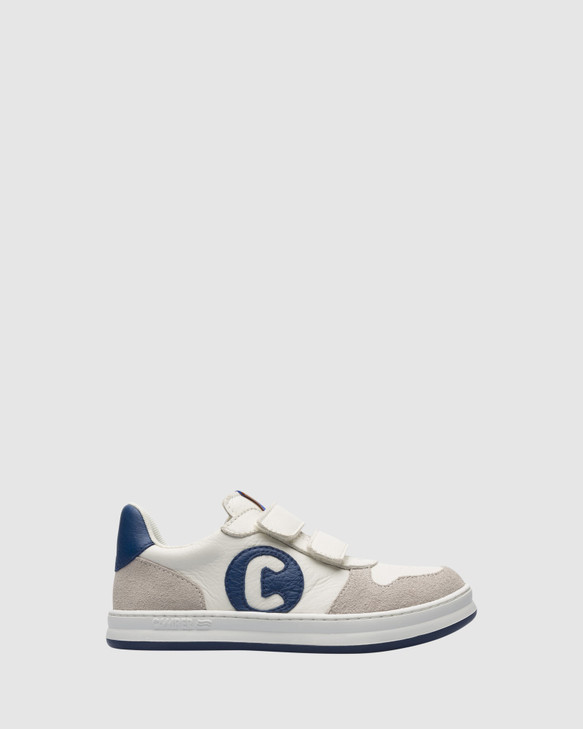 Shoes and Sox Runner C Sneaker Sf B Yth White/Navy