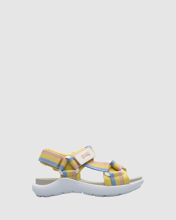 Shoes and Sox Wous Strap Sandal Yth Multi