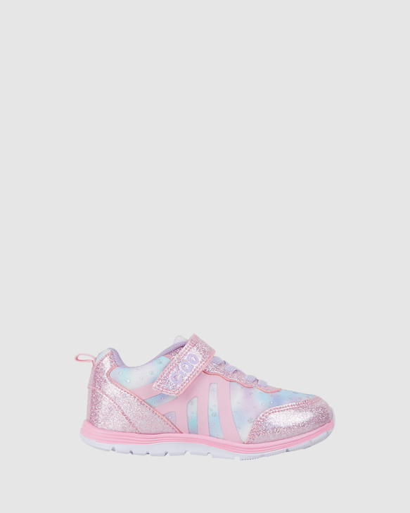 Shoes and Sox Dash Sparkle G Light Pink