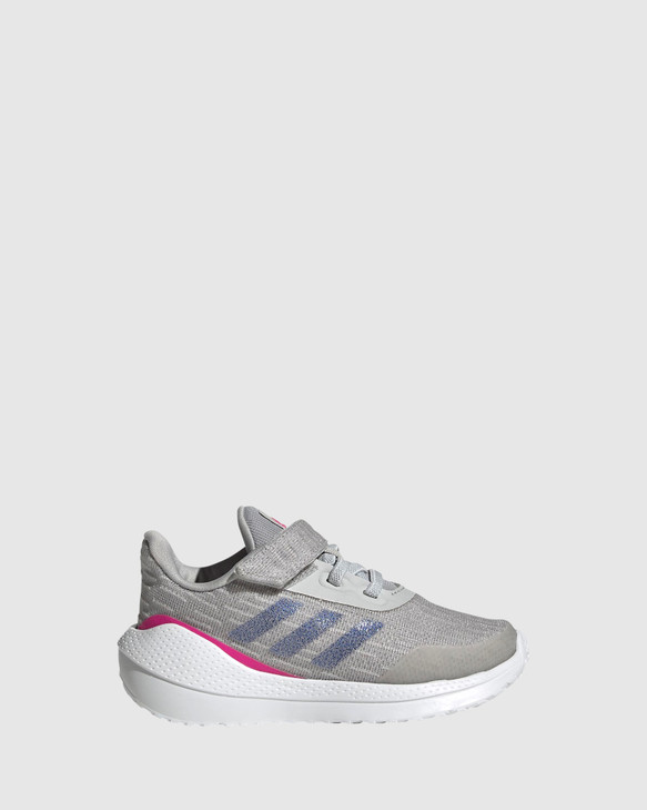 Shoes and Sox Eq21 Run Inf G Grey/Shock Pink