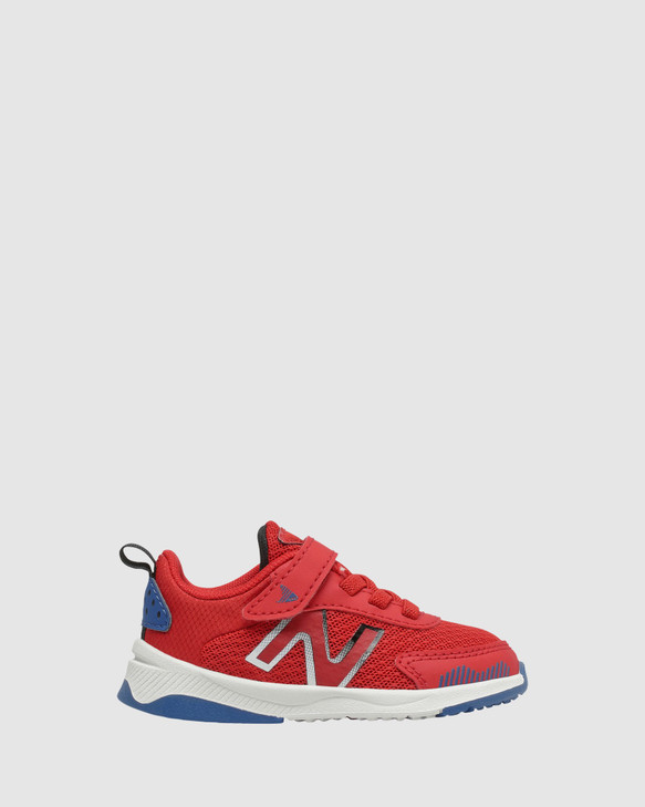 Shoes and Sox 545 Sf Strap Inf B Red/Blue