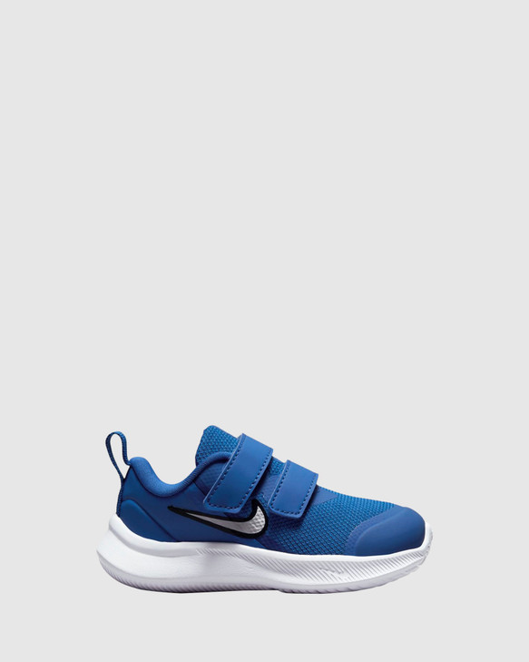 Shoes and Sox Star Runner 3 Inf B Game Royal/White