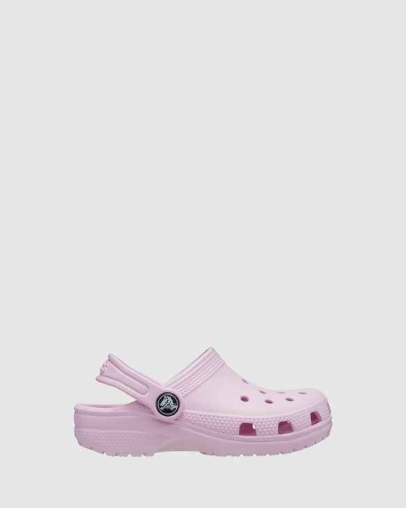 Shoes and Sox Classic Clog K G Ballet Pink